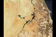 Lake Nasser and Toshka Lakes, Egypt