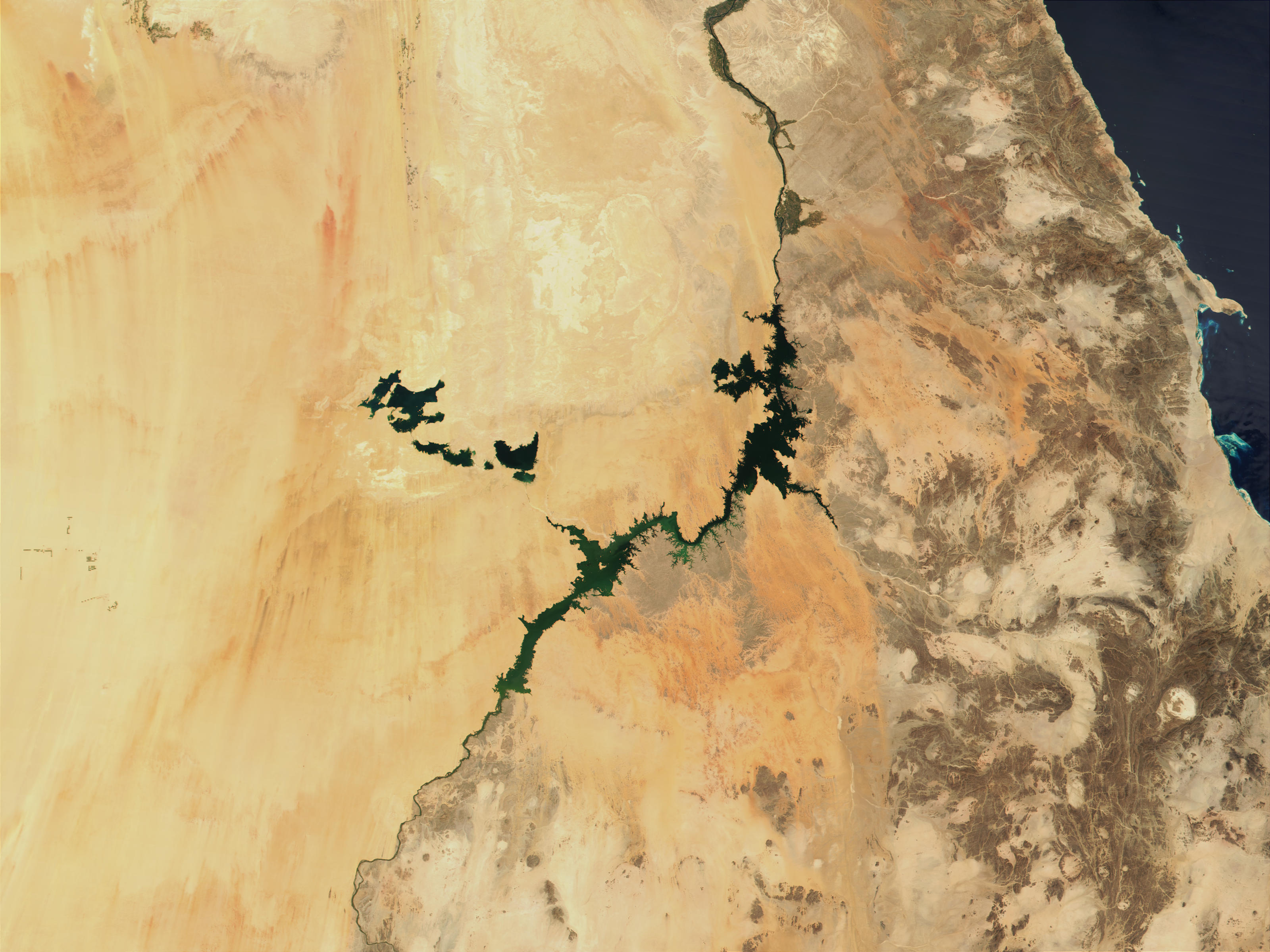 Lake Nasser and Toshka Lakes, Egypt - related image preview