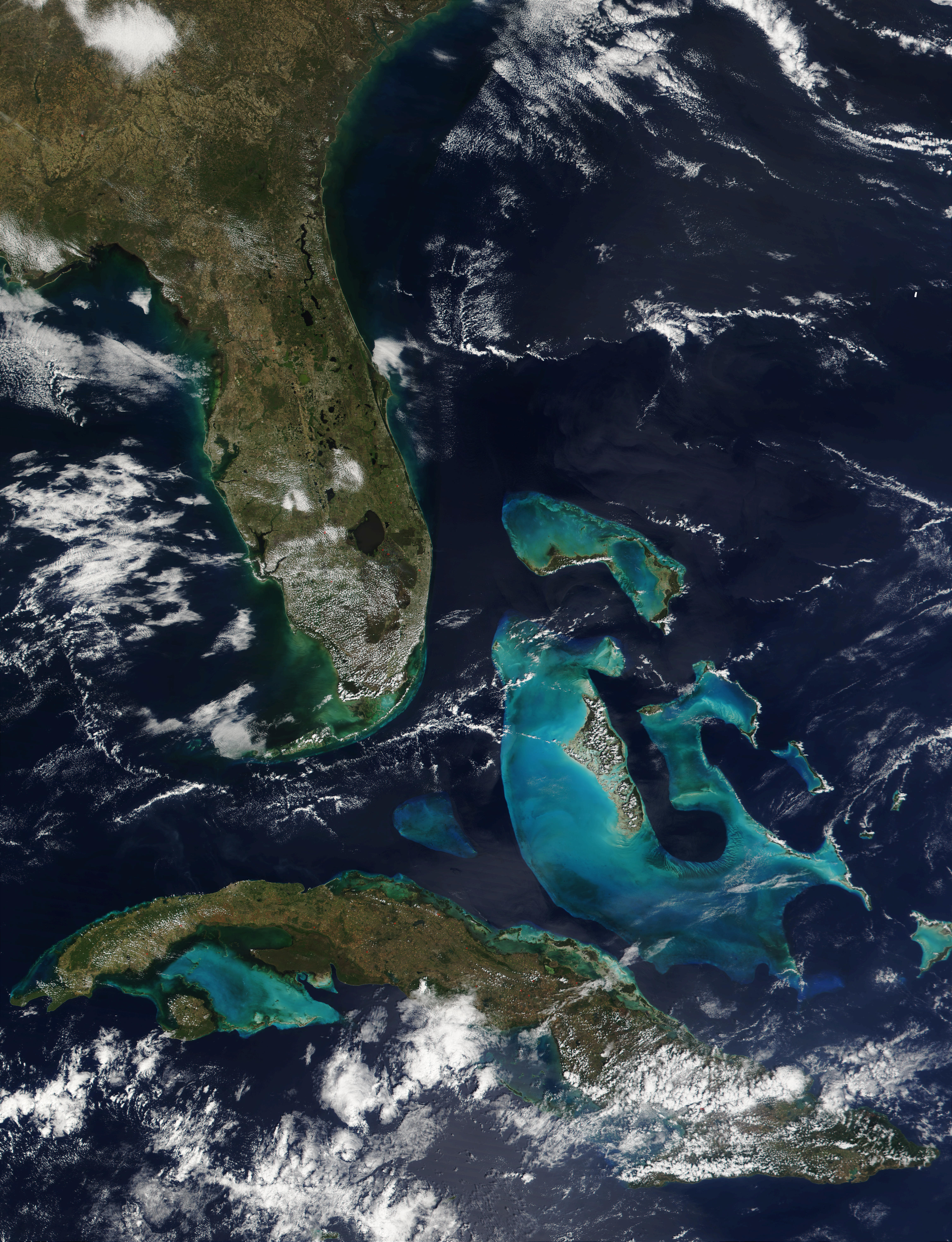 Florida, Bahamas, and Cuba - related image preview