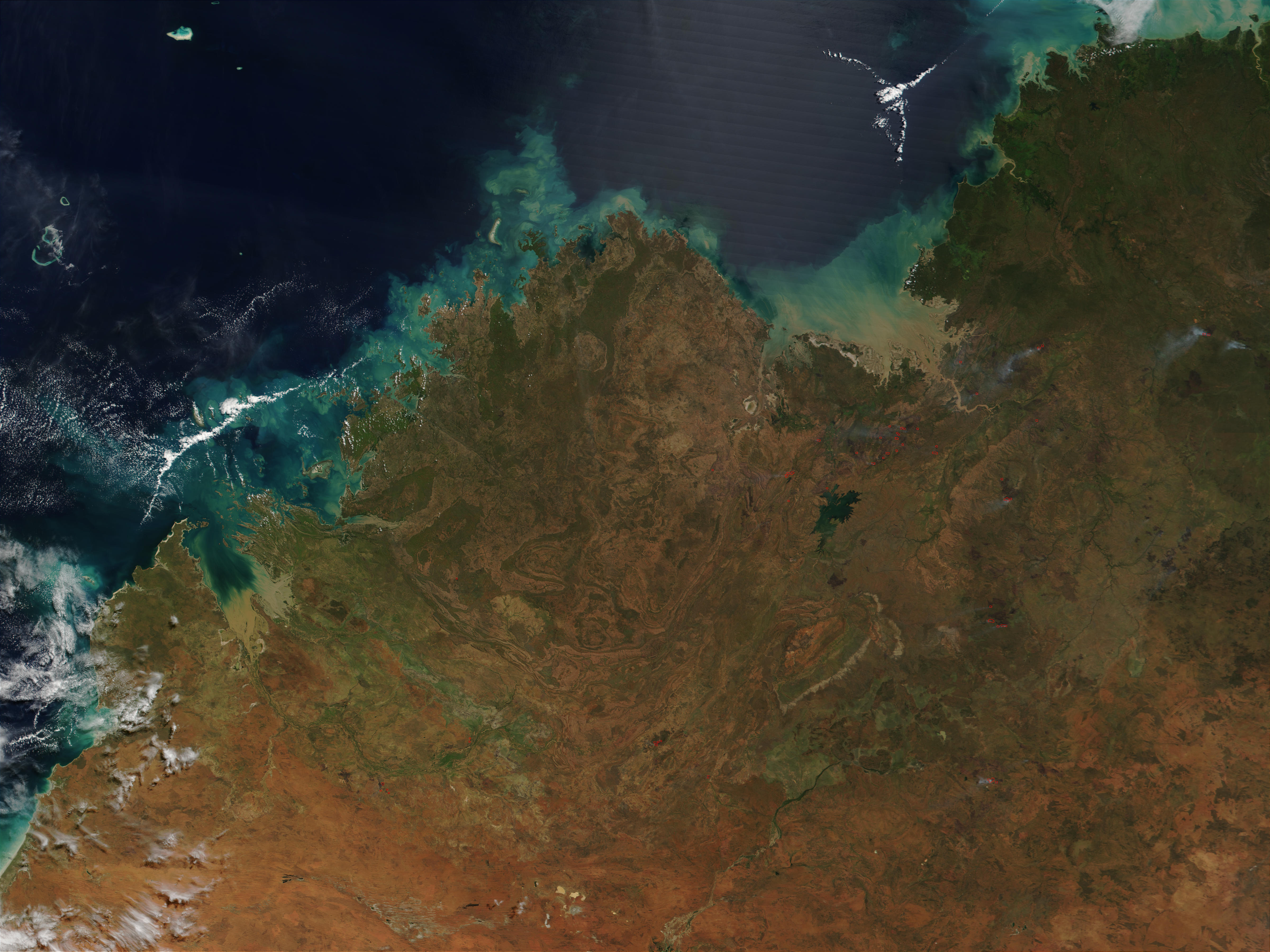 Fires in Northwest Australia - related image preview
