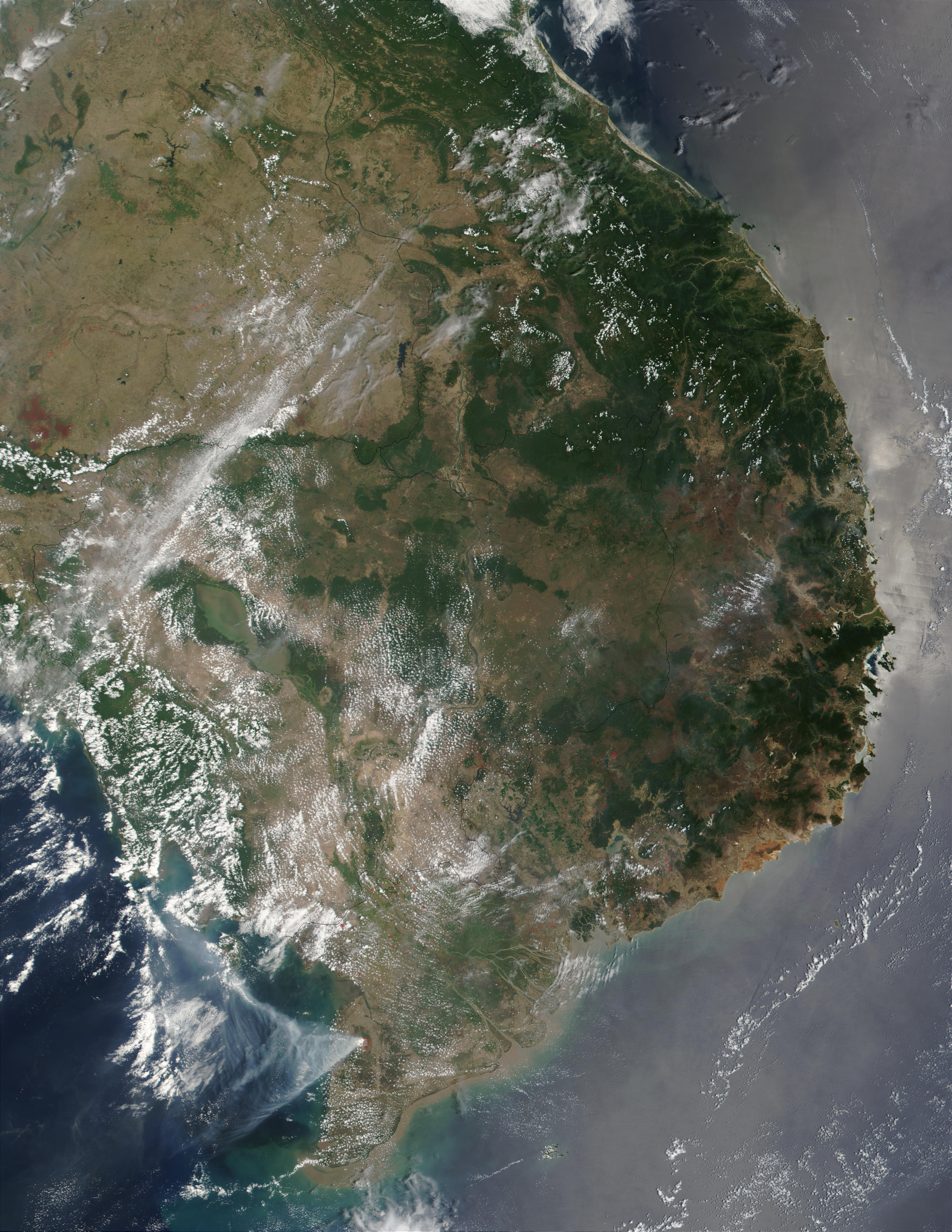 Fires in Vietnam - related image preview