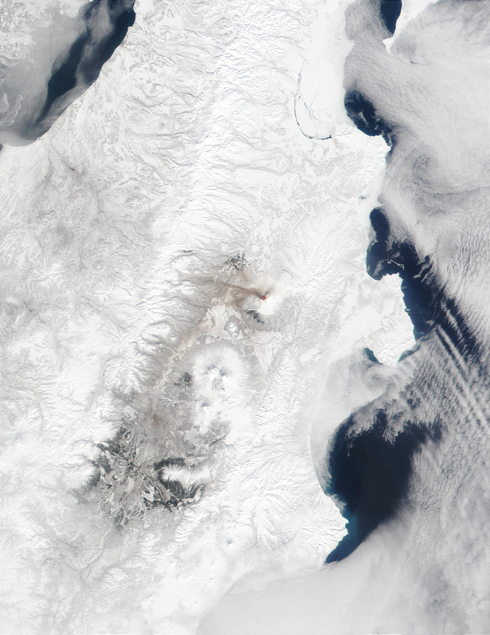 Eruption of Shiveluch Volcano in Kamchatka Peninsula, Russia - related image preview