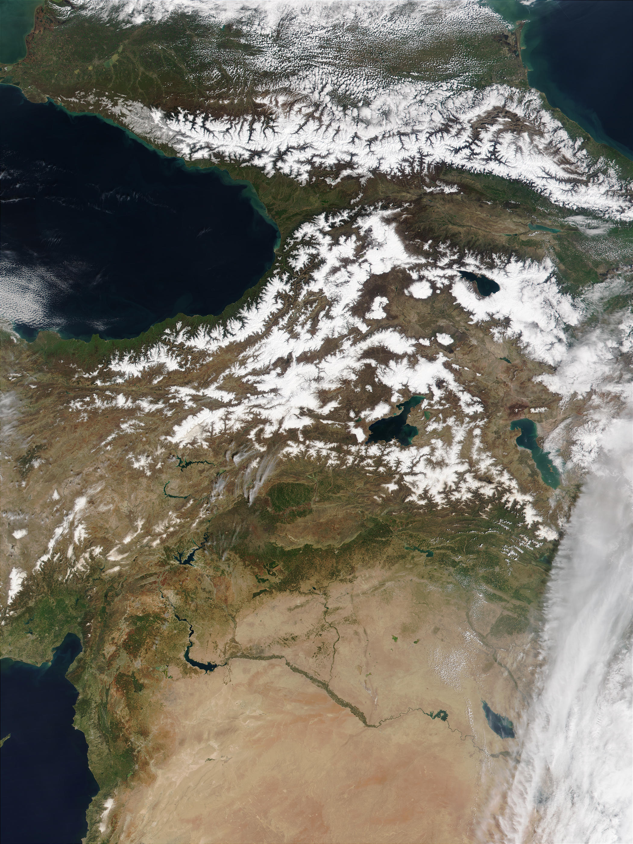 Caucasus Mountains to Mesopotamia - related image preview
