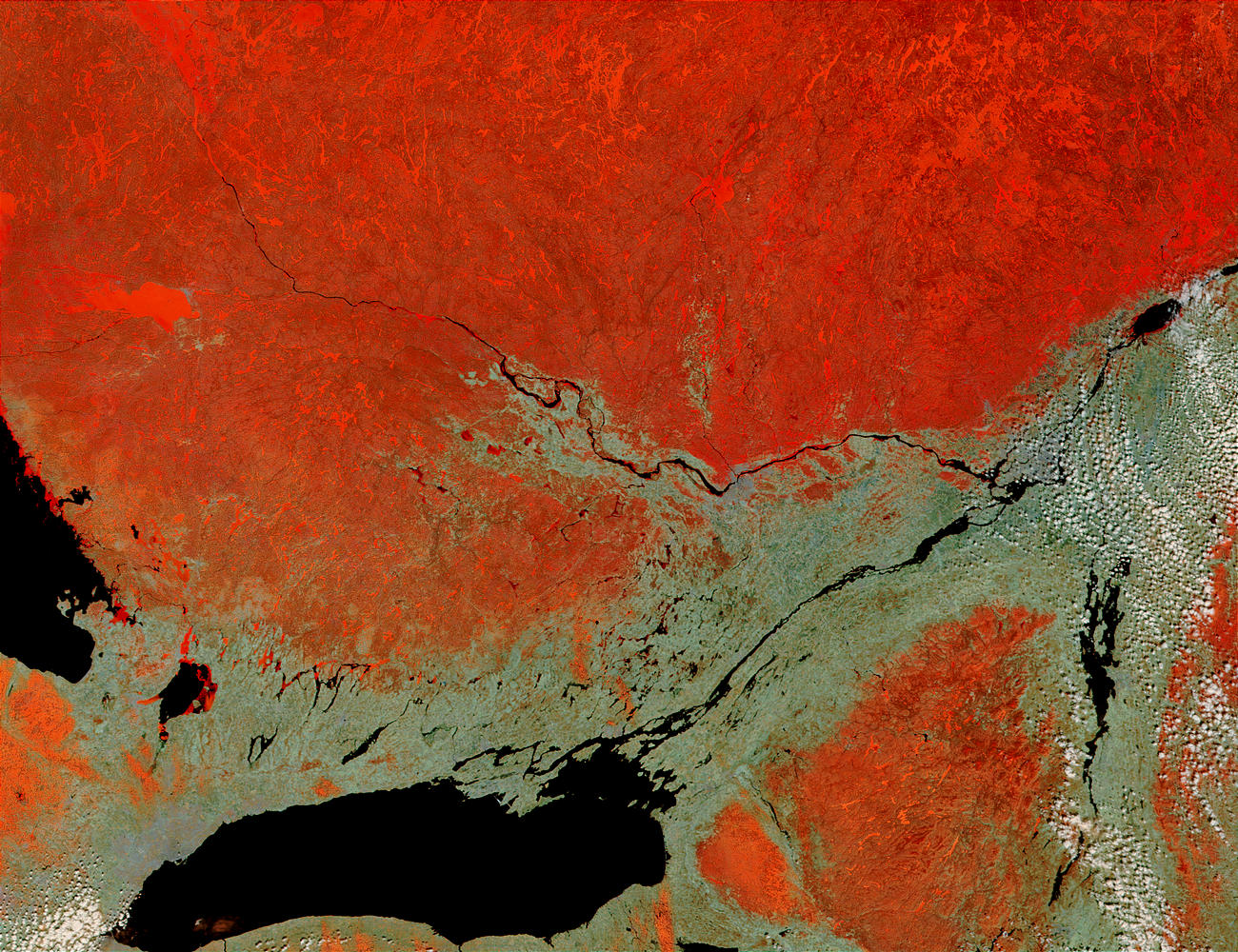 Lake Ontario, St. Lawrence River and Ottawa River, Canada - related image preview