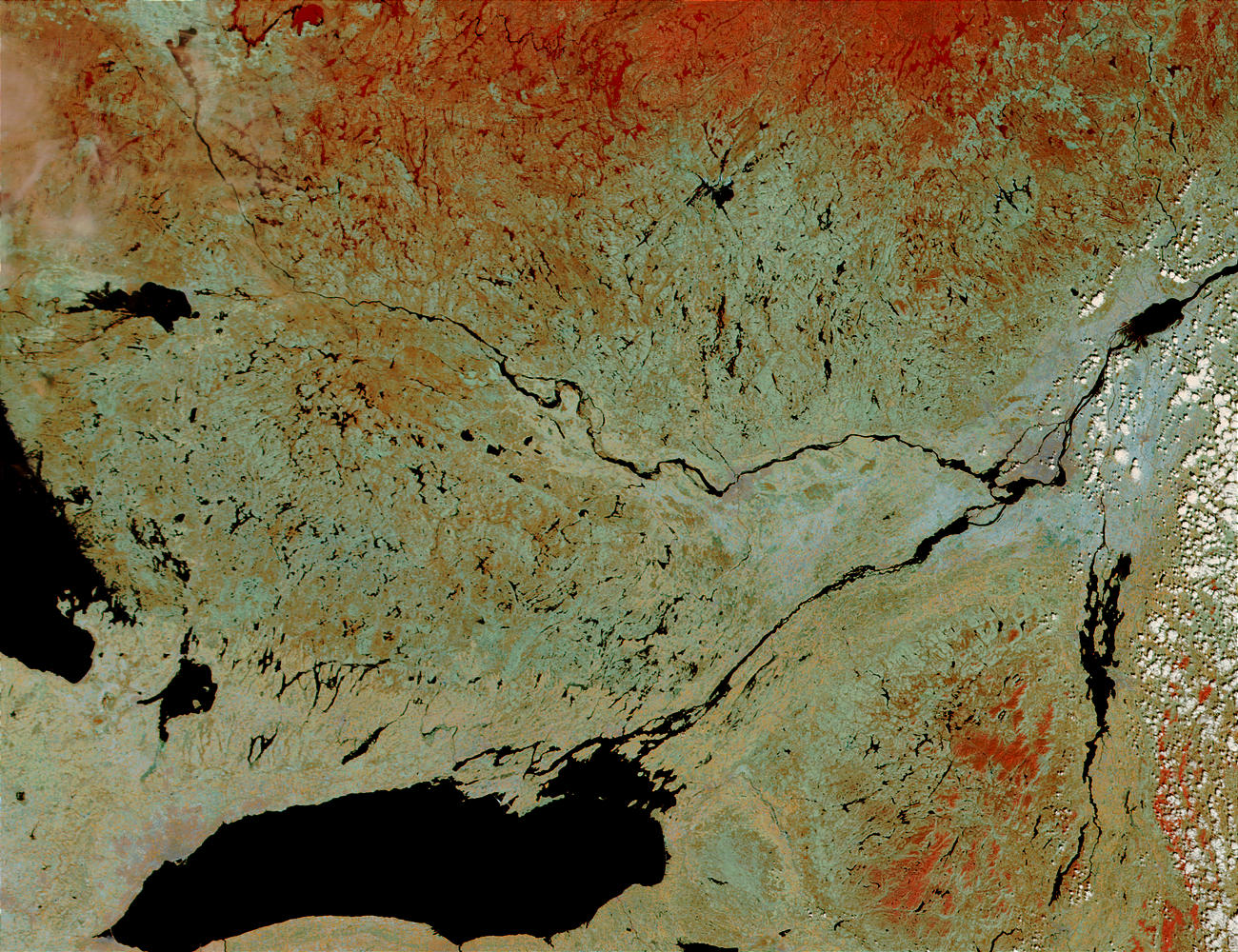 Floods along the Ottawa River, Canada - related image preview