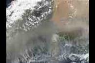 Saharan dust off Western Africa