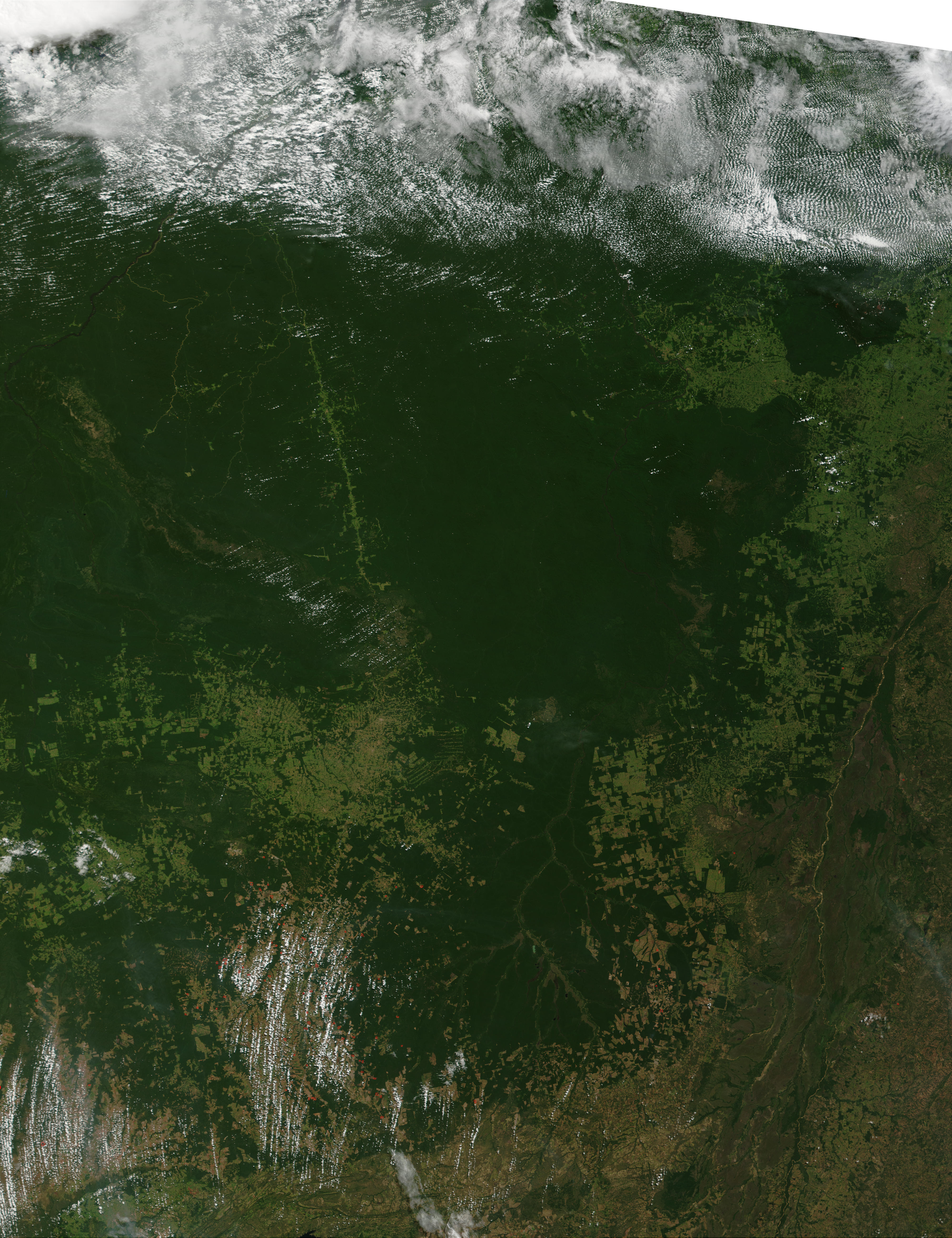 Fires in Mato Grosso State, Brazil - related image preview
