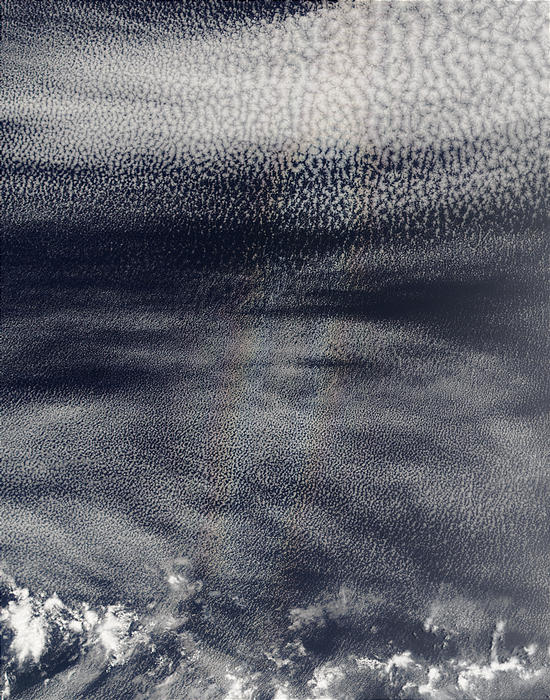 Glory over stratocumulus clouds in Pacific Ocean - related image preview