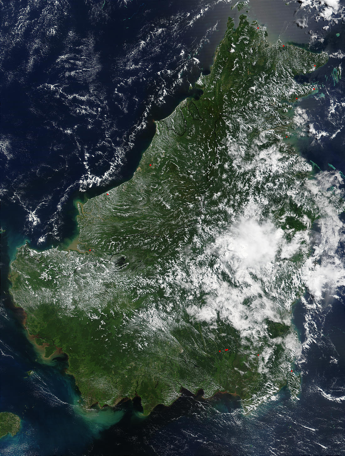 Borneo, Indonesia and Malaysia - related image preview