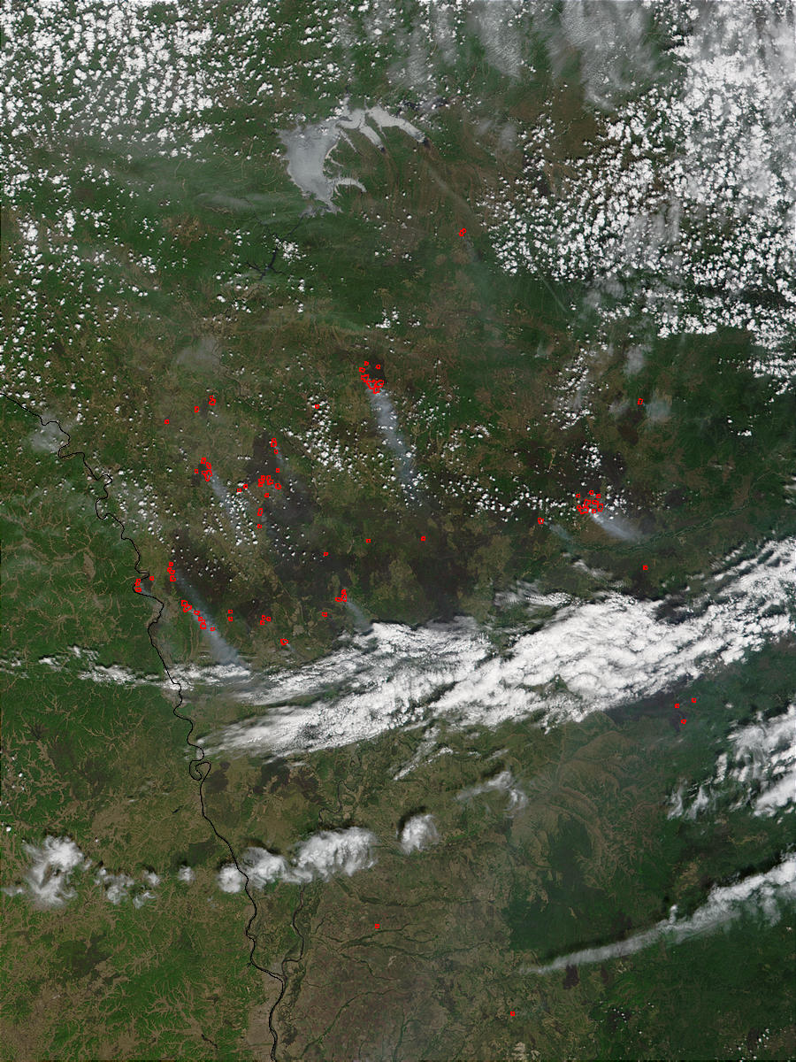Fires in the Amur region, Eastern Russia - related image preview