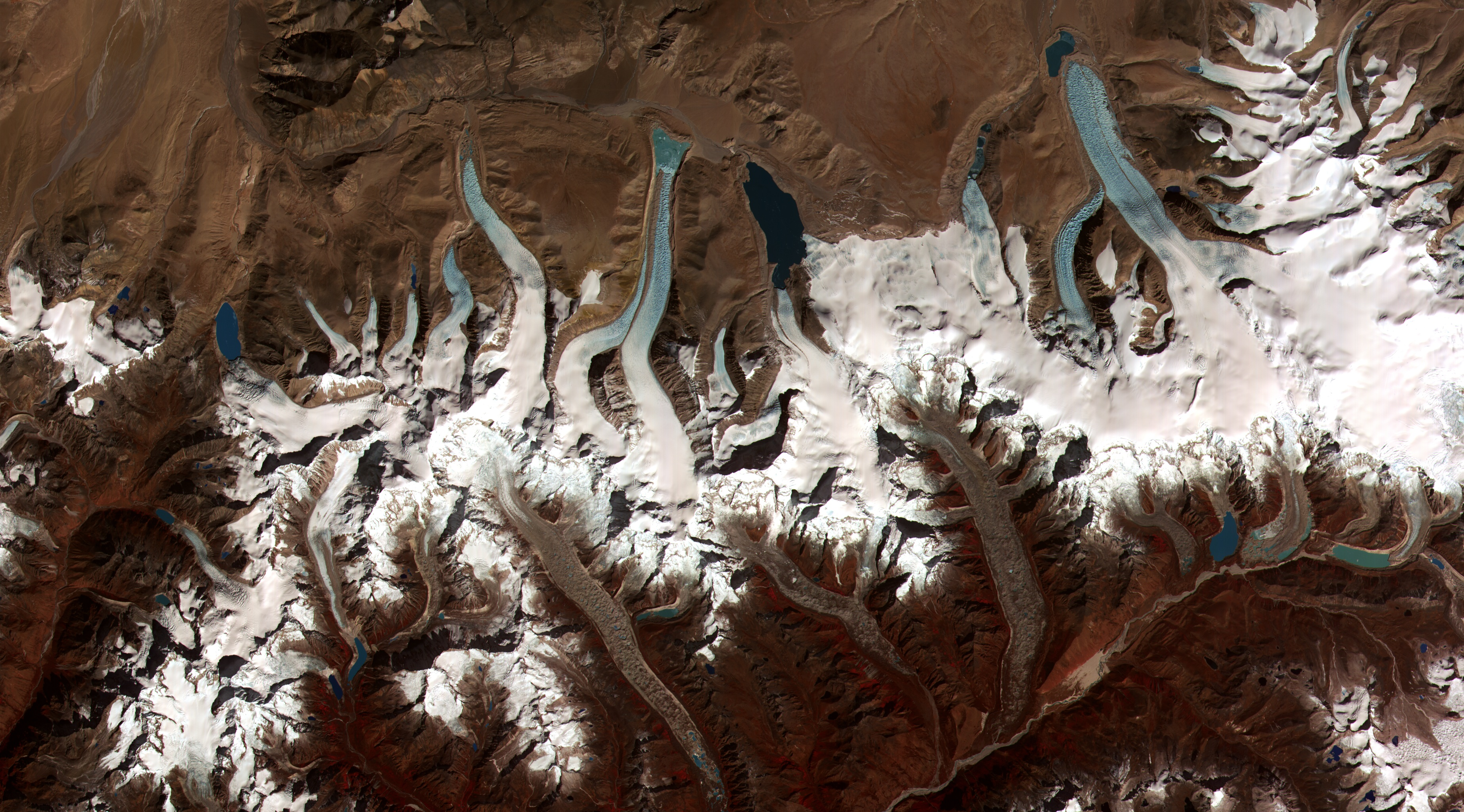 Glacial Lakes from Retreating Glaciers - related image preview