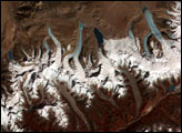 Glacial Lakes from Retreating Glaciers - selected image