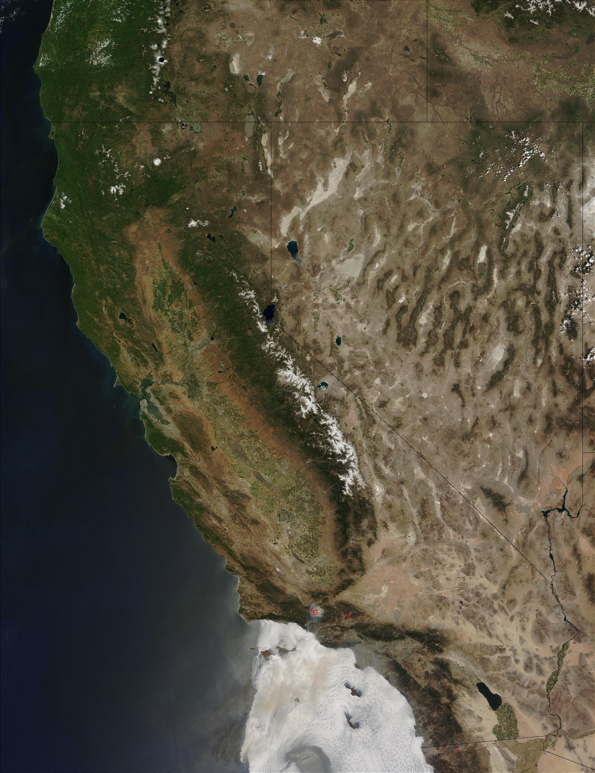 California and Nevada - related image preview