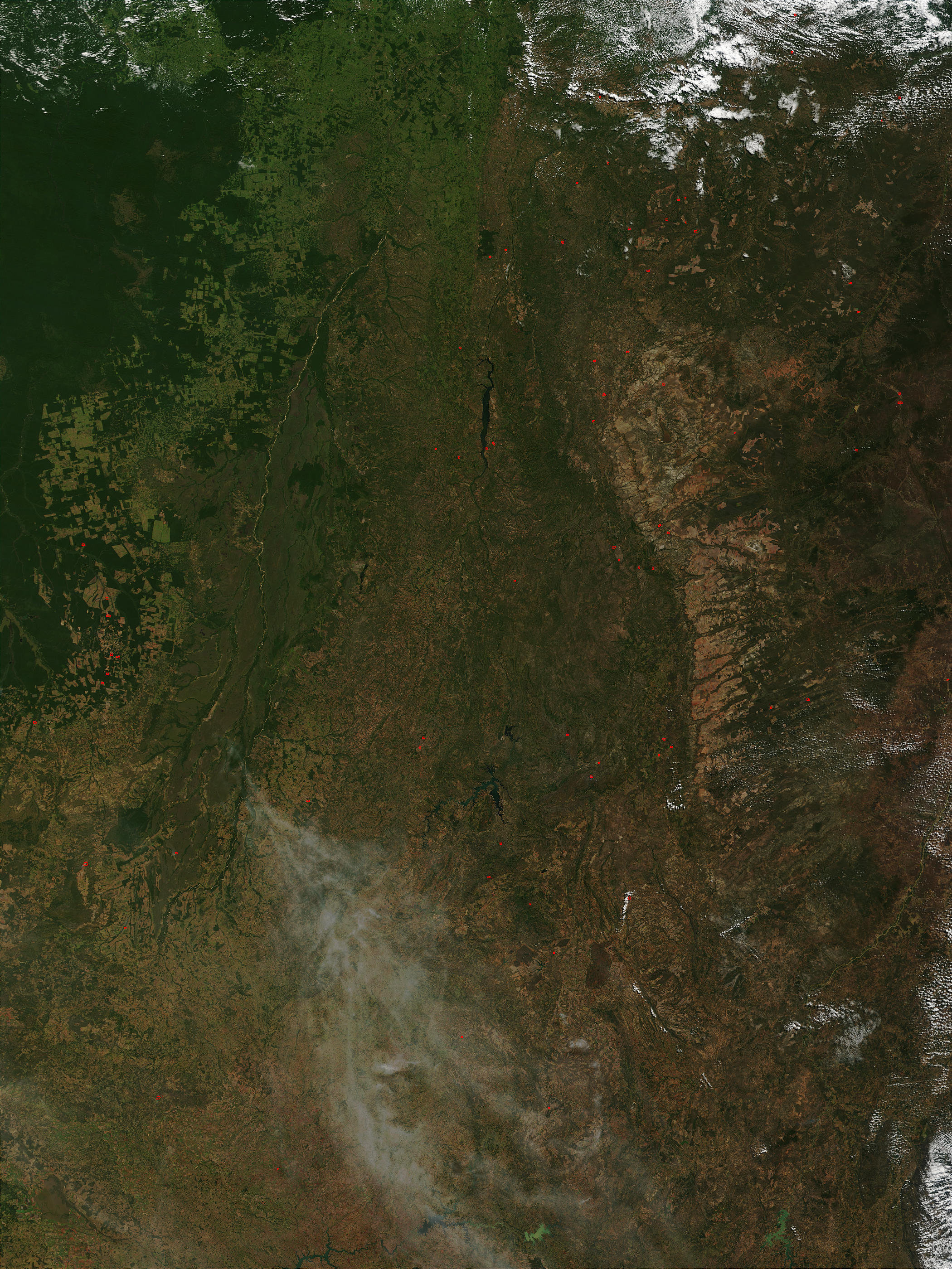 Fires in Central Brazil - related image preview