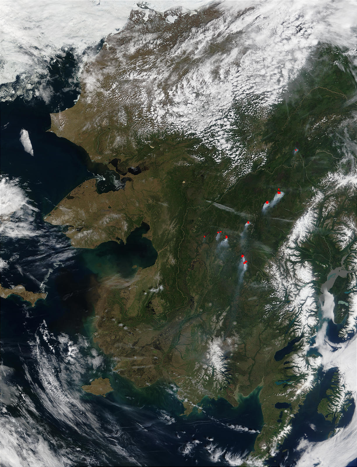 Wildfires in Central Alaska - related image preview