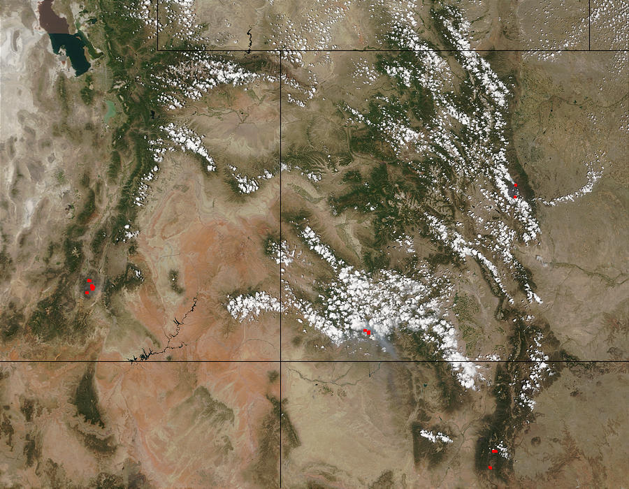 Wildfires in Utah, Colorado, and New Mexico - related image preview