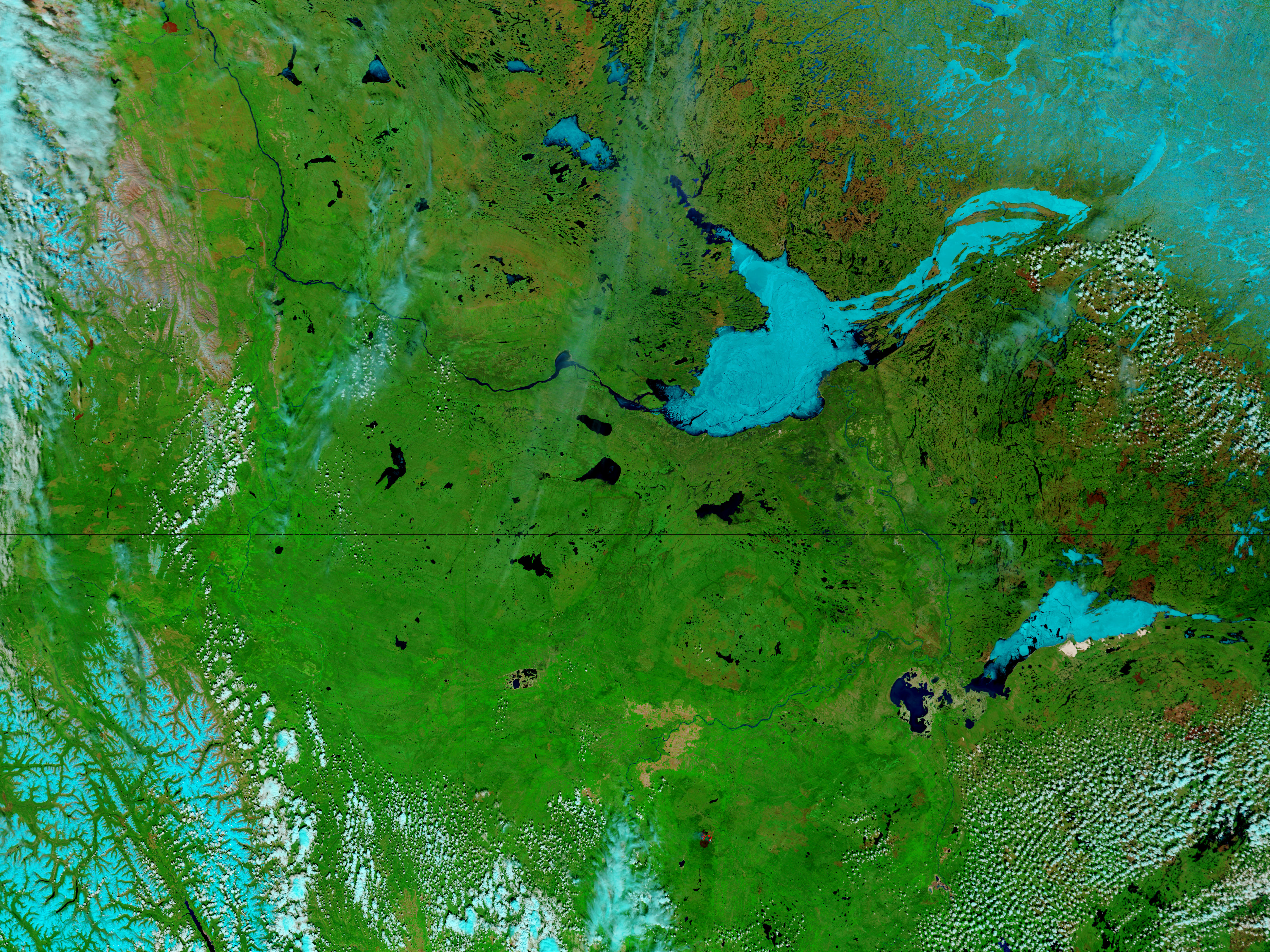 Great Slave Lake and Lake Athabasca, Canada - related image preview