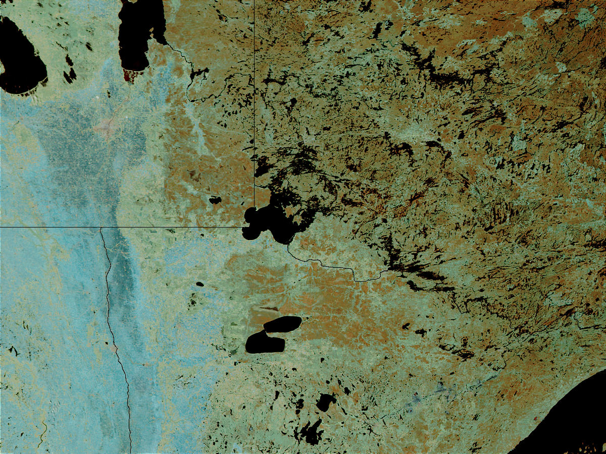 Northern Minnesota (before floods) - related image preview