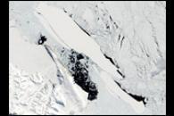 B-15A Iceberg Breaks