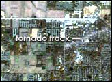 Tornado Track Across Indiana and Kentucky