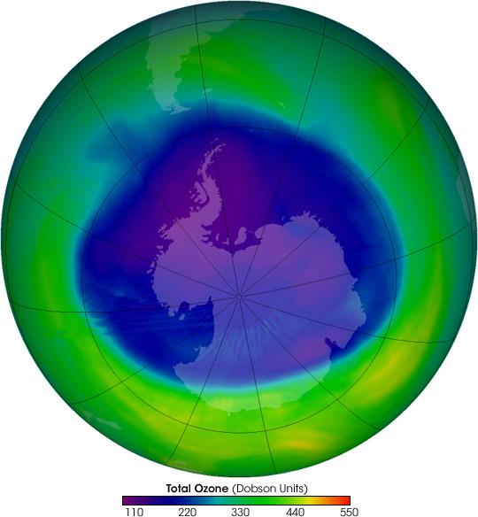 2005 Ozone Hole