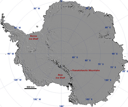 High-Resolution Mosaic of Antarctica