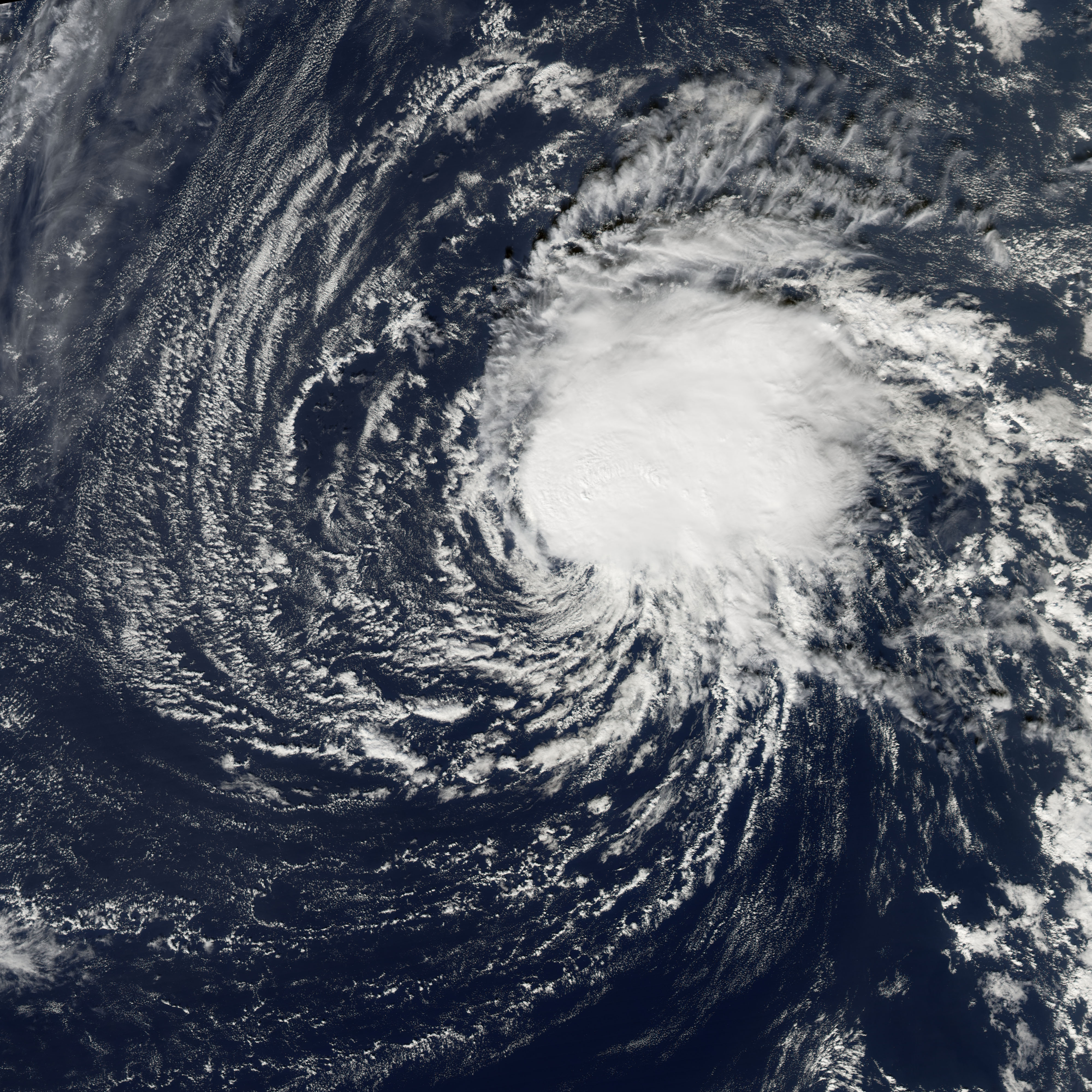 Tropical Storm Zeta : Image of the Day