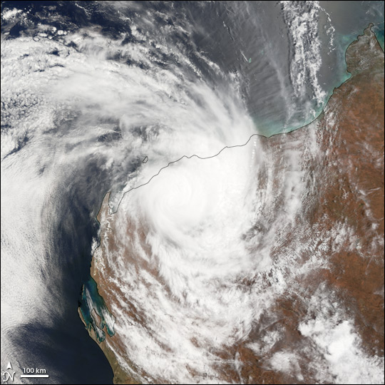 Tropical Cyclone Clare