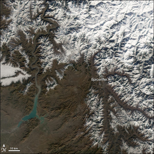 Heavy Snow Blankets Pakistan Earthquake Region