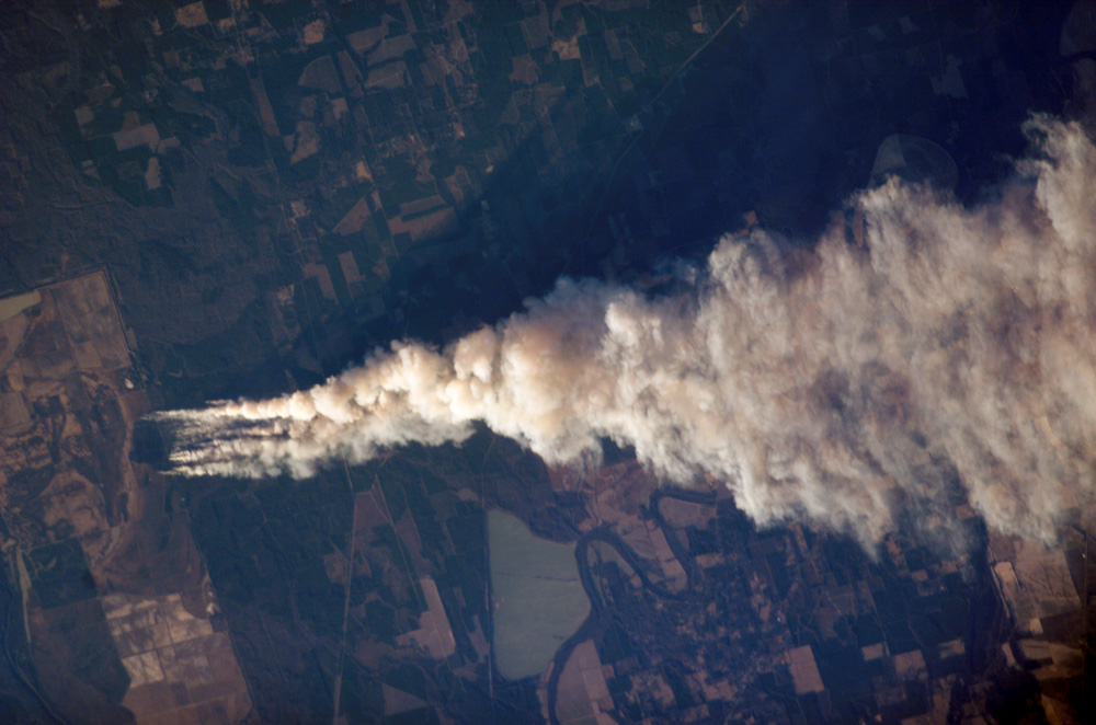 Forest Fire, Ouachita National Wildlife Refuge, LA - related image preview