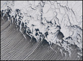 Cloud Streets in the Bering Sea