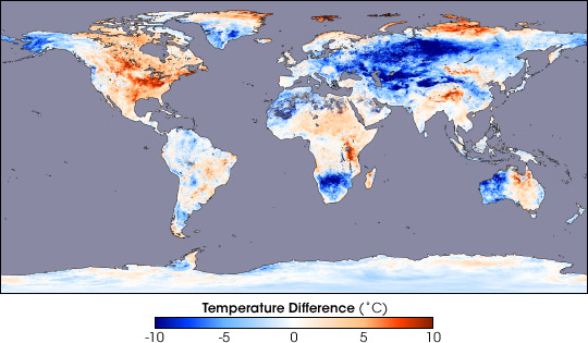 Extreme Temperatures in January