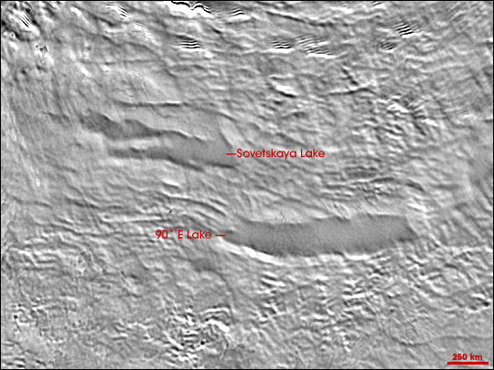 Newly Discovered Antarctic Lakes