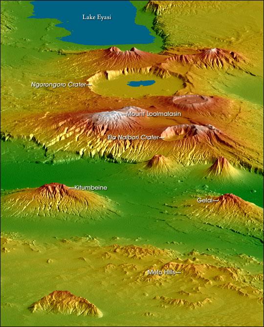 Crater Highlands, Tanzania