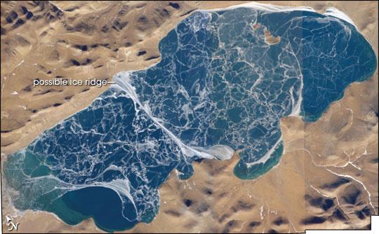 Lake Puma Yumco, Tibet, China