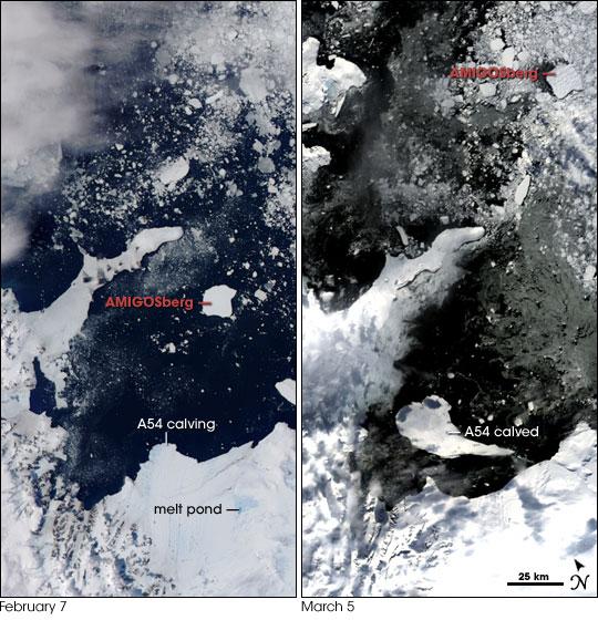 IceTrek Expedition to AMIGOSberg