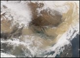 Dust Storm over Eastern China