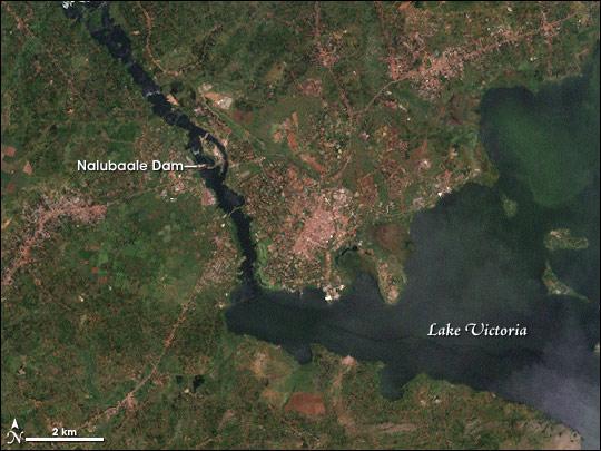 Nalubaale Dam, Uganda