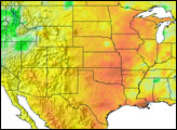 Drought in the Southern United States