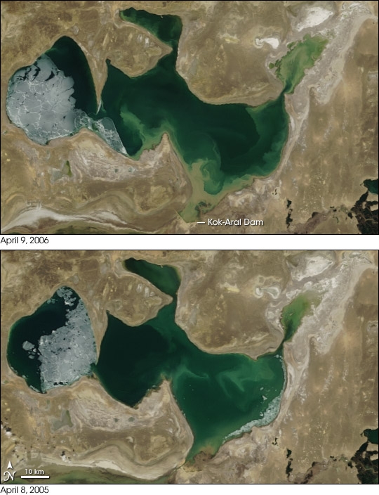 Aral Sea Expansion