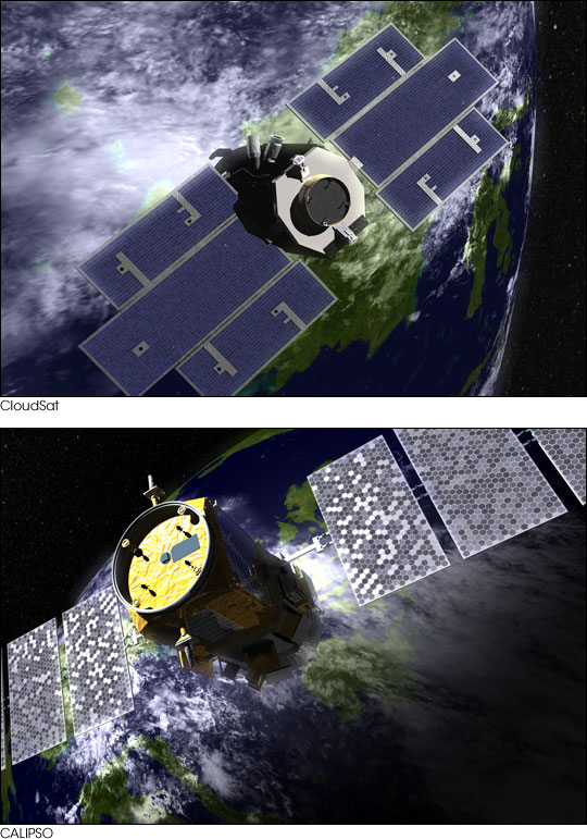 CloudSat/CALIPSO Mission Set to Launch