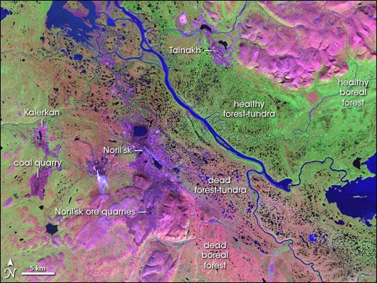 Noril'sk, Northeast Siberia