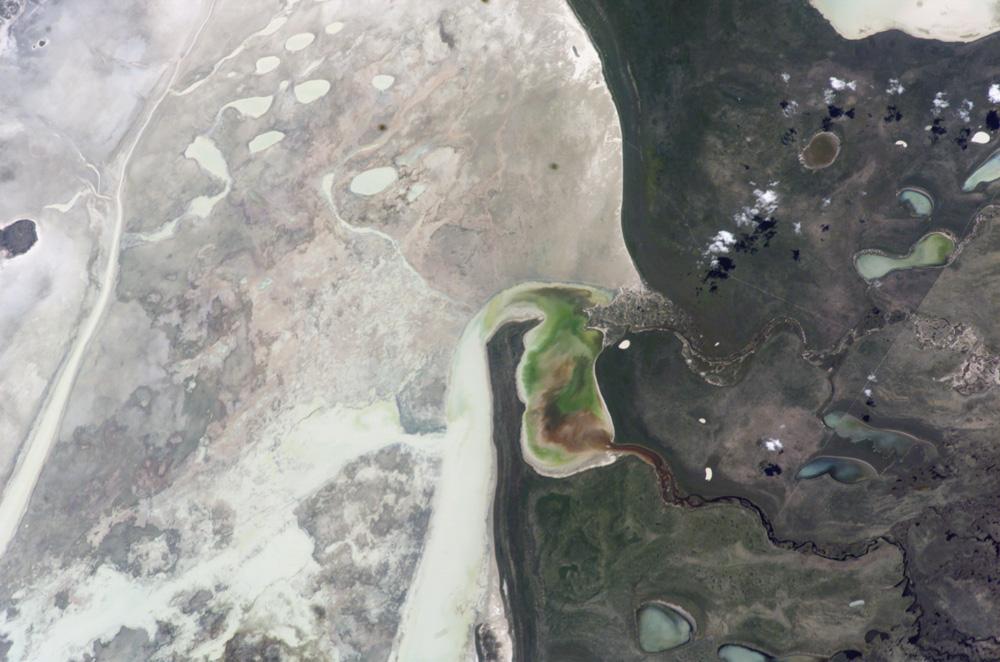 Oshigambo River And Etosha Pan Namibia Image Of The Day