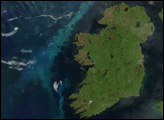 Phytoplankton Bloom off Ireland