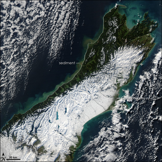 Snow in New Zealand