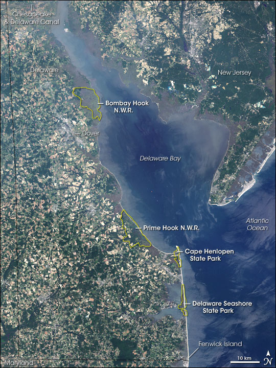 Coastal Heritage Greenway in Delaware