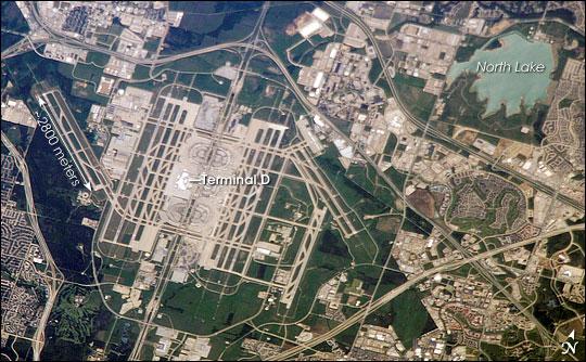 Dallas-Fort Worth International Airport, TX on
