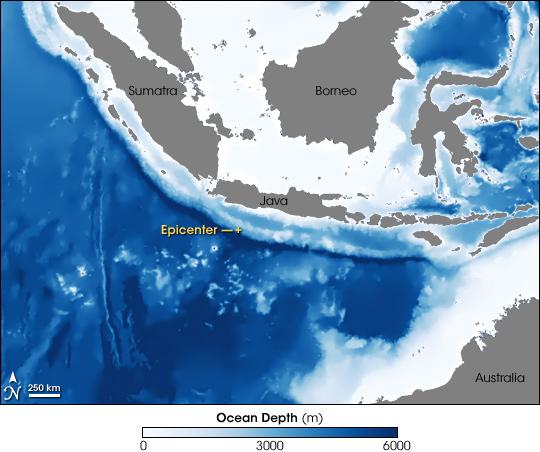 Tsunami Strikes Java