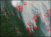 Fires Across the Central Siberian Plateau