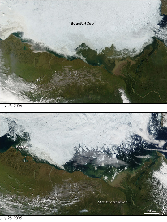 Sea Ice in the Beaufort Sea